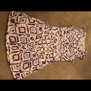 Title nine size S dress zip on side